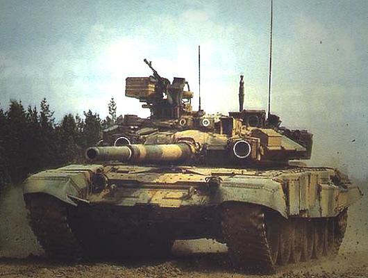 دبابة القتال الروسية T- 90 T-90-S