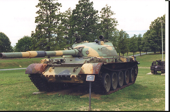 This tank was the fitted with a Meteor two-axis stabilizer, it allows the T to aim and fire while moving, according to tests conducted by the US army the Meteor gave the T a first hit probability of 70% for a moving target at meters with the tank moving up to 20 km/per hour.